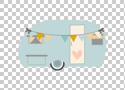 Campervans Caravan Trailer,露营车,灰色和多彩多姿的旅行拖车PN