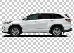 2018丰田汉兰达XLE车载全轮驱动,丰田PNG剪贴画玻璃,汽车,自动变