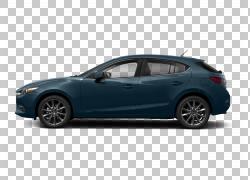 2018年Mazda3 Grand Touring Car两厢车,马自达PNG剪贴画紧凑型轿