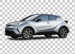 2018年丰田C-HR汽车运动型多功能车,丰田PNG剪贴画紧凑型轿车,轿