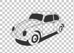 2018年大众甲壳虫汽车大众新甲壳虫大众Tiguan,Bee图形PNG剪贴画
