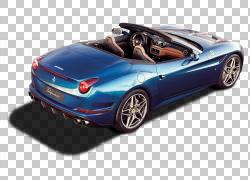 2015年法拉利加利福尼亚T日内瓦汽车展示车,后面观法拉利加利福尼