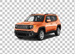 2017 Jeep Renegade Car Jeep大切诺基克莱斯勒,吉普PNG剪贴画汽
