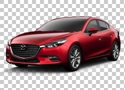 2017 Mazda3 Car Mazda6马自达CX-5,马自达PNG剪贴画紧凑型轿车,