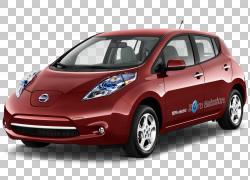 2015日产LEAF车2014日产LEAF 2016日产LEAF,日产PNG剪贴画紧凑型