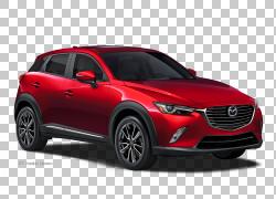 2017马自达CX-3汽车马自达CX-9 Mazda3,马自达PNG剪贴画紧凑型汽