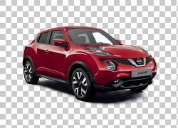2017日产Juke Compact运动型多功能车,日产PNG剪贴画紧凑型汽车,