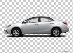 2015丰田卡罗拉LE轿车二手车车辆,丰田卡罗拉PNG剪贴画紧凑型轿车