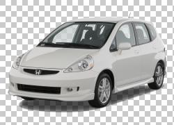 2007本田飞度2008本田飞度汽车本田思域,适合PNG剪贴画紧凑型轿车