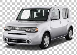 2010日产Cube Car Honda Fit LA车展,日产汽车PNG剪贴画紧凑型汽