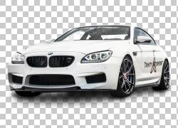 2014 BMW M6跑车BMW 6系列,宝马M6 Aero Wide Car PNG剪贴画紧凑