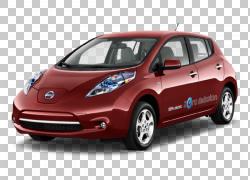 2012日产LEAF 2016日产LEAF车2015日产LEAF,日产PNG剪贴画紧凑型