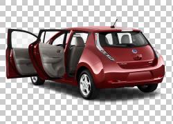 2012日产LEAF车2014日产LEAF 2011日产LEAF,日产PNG剪贴画紧凑型