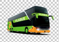 Flixbus欧洲城际巴士服务教练,巴士PNG剪贴画紧凑型轿车,运输方式