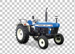 CNH工业印度私人有限公司纽荷兰农业拖拉机农业机械,湿PNG剪贴画