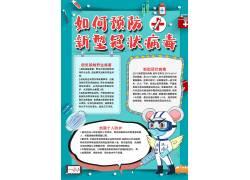 如何预防新型冠状病毒小报