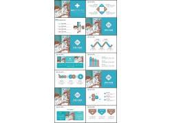 新型冠状病毒肺炎PPT模板图片