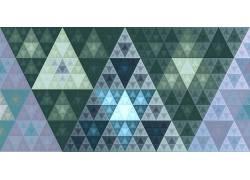 分形,隆起,黄金比例,斐波那契数列,三角形,数字艺术,3D,抽象22303图片