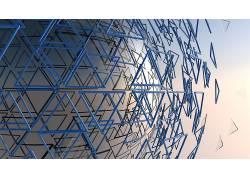 3D,领域,数字艺术,抽象,三角形103324