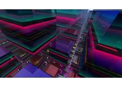 华美,广场,抽象,数字艺术664230