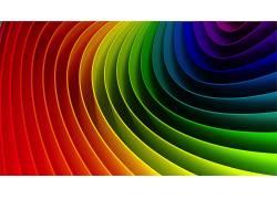 华美,彩虹,形状,抽象,数字艺术,红,绿色,蓝色,紫色17280