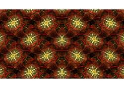 抽象,分形,模式,对称,数字艺术614481