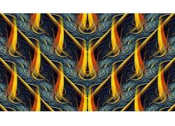 抽象,分形,模式,对称,数字艺术614685