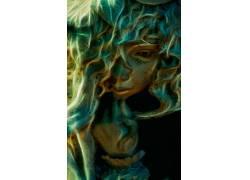 弗雷德希金斯,500px的,面对,抽象,娃娃,肖像显示567604