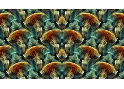 抽象,分形,模式,对称,数字艺术617672