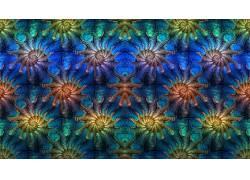 抽象,分形,模式,对称,数字艺术623427