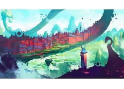 抽象,幻想艺术,Duelyst,华美651473