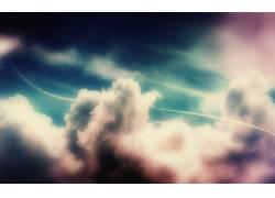 抽象,幻想艺术,天空,云,数字艺术110176