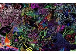华美,抽象,超现实主义,艺术品103094