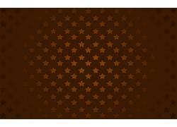 抽象,数字艺术,极简主义,简单的背景,明星,棕色160608