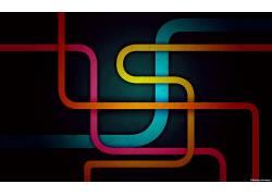 华美,数字艺术,抽象,线,艺术品109303