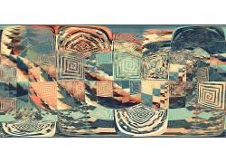 抽象,分形,迷宫,广场,天空396471