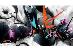 抽象,Rik Oostenbroek,数字艺术,艺术品,线,形状,超现实主义9048