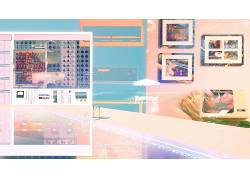 vaporwave,高科技,抽象686115
