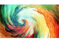 华美,绘画,动漫,螺旋,抽象,艺术品,涡流12778