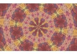 万花筒,对称,抽象,艺术品,模式,镶嵌,华美124195