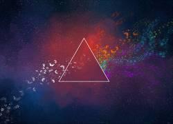 抽象,三角形,蝴蝶,华美,数字艺术,太空艺术102783