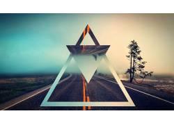 抽象,三角形164804