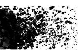 单色,立方体,数字艺术,抽象23598图片