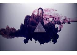 三角形,抽象,数字艺术37665
