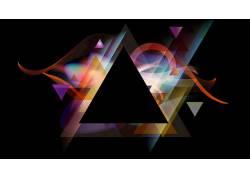 三角形,抽象300212