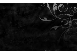 抽象,单色,白色,黑色,巴洛克,数字艺术479102