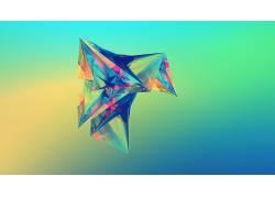 抽象,形状,面,贾斯汀马勒,数字艺术20691