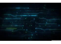 抽象,数字艺术,蓝色,深蓝,特隆:遗产,艺术品,线14017