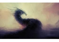 抽象,动画片,生物,幻想艺术,艺术品88890
