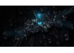 抽象,华美,3D,泛着,数字艺术,艺术品67692图片